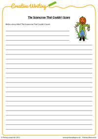 Writing - The Scarecrow That Couldn't Scare