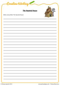Writing - The Haunted House