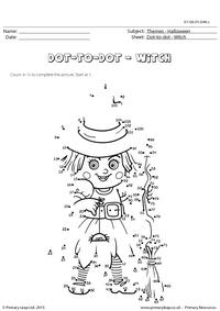 Dot-to-dot - Witch