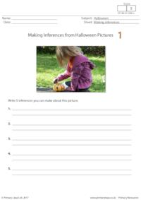 Making Inferences from Halloween Pictures 1