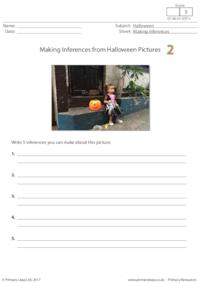 Making Inferences from Halloween Pictures 2