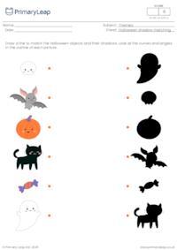 Halloween shadow matching