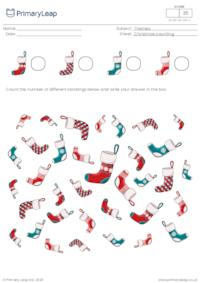 Christmas counting - How many stockings?