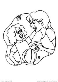 Mother's Day - colouring page 2