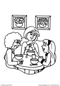 Mother's Day - colouring page 11