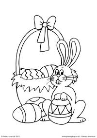 Easter - colouring sheet 2