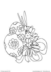Easter - colouring sheet 5