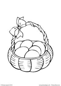 Easter - colouring sheet 7