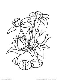 Easter - colouring sheet 8
