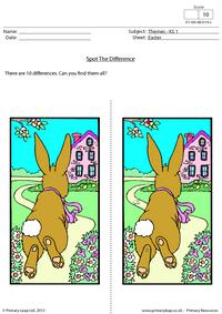 Easter - Spot the difference 3