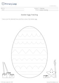 Tracing Page - Easter Egg