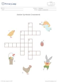 Crossword - Easter Symbols