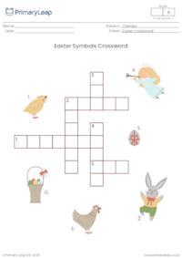 Crossword - Easter Symbols