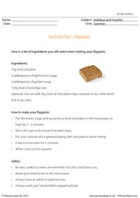 Summer Fun - Flapjacks