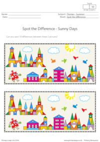 Spot the Difference - Sunny Days