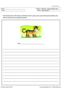 Story starter - Year of the Tiger