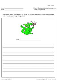 Story starter - Year of the Dragon