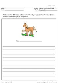 Story starter - Year of the Horse