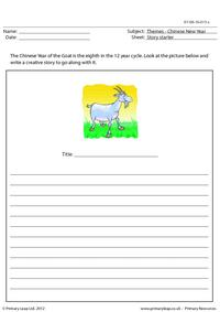 Story starter - Year of the Goat