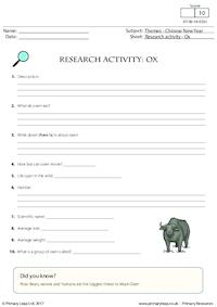 Research Activity - Ox