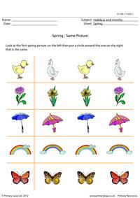 Spring - Same Picture
