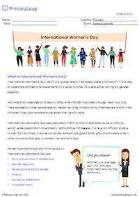 International Women's Day Fact Sheet