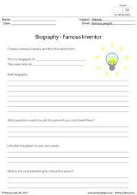 Biography - Famous Inventor