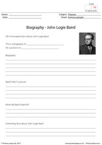 Biography - John Logie Baird