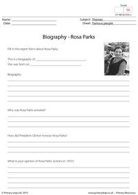 Biography - Rosa Parks