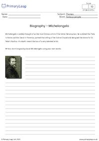 Biography - Michelangelo
