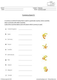 Currency quiz (1)