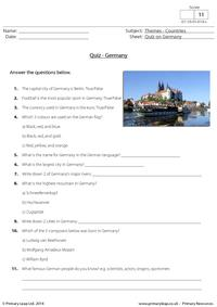 Quiz on Germany