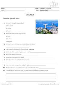 Quiz on Brazil