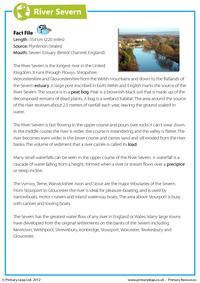 Comprehension - The River Severn
