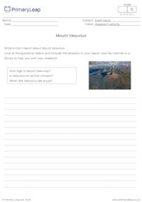 Research activity - Mount Vesuvius