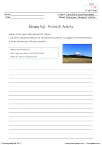 Research activity - Mount Fuji