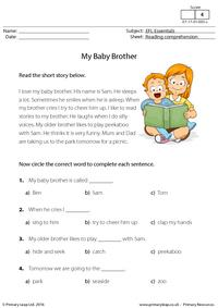 EFL Essentials - My Baby Brother